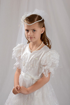 Kaylee 1st Communion