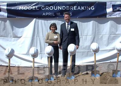 Apr 18, 2016 SDC Rabbit Run Creek, Model Ground breaking