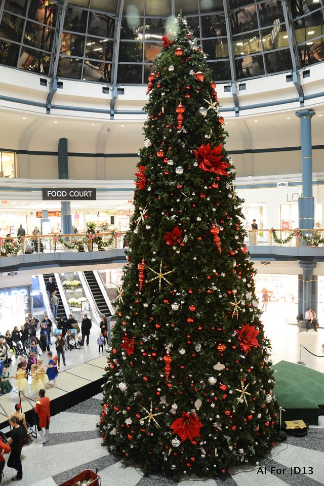Dec 3, 2013 Liberty Place 1st Tree Lighting Ceremony