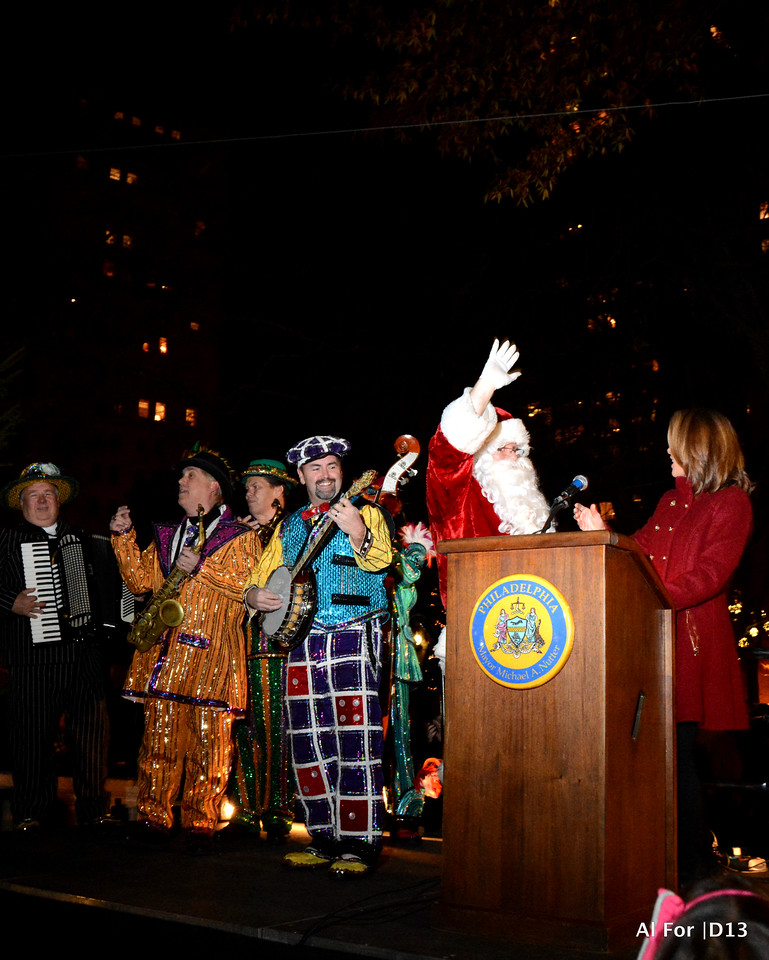 Dec 3, 2013 Liberty Place 1st Tree Lighting Ceremony