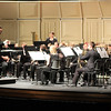 The Chadron State College Wind Symphony, under the direction of Sid Shuler, performs during its concert Nov. 29. (Photo by Justin Haag)