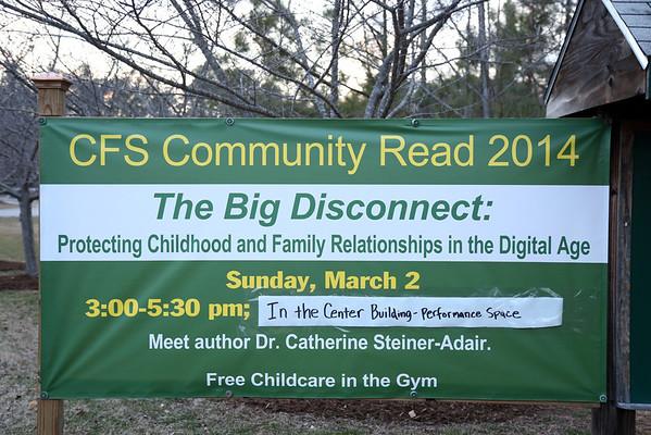 Community Book Read 2014