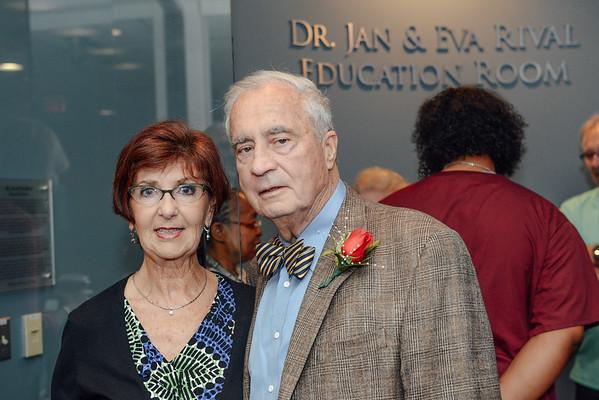 Dr. Rival's  Retirement Reception