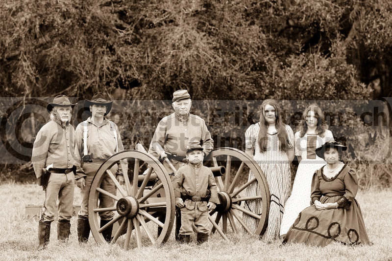 2010 02 06 Civil War Family Sepia-2101