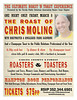 "2013.03.08 Roast of Chris Moling : Coming Soon!!!## Join us on Facebook and Twitter, look for ""eventmugshots"" and you will get notice of photos and coupons for events # http://www.facebook.com/EventMugShots    ****If you need help with searching or ordering please ""contact us"" or ask through message on our Facebook, thank you.*** NOTICE: Please make sure you or your subject is the focused subject, if you have a question please ""Contact Us"" before ordering. The proofs you see online are lower quality and resolution than the actual images from which enlargements are printed. The sample images have not been color corrected, however, final prints will be color corrected by hand appropriately. All images are printed professionally on the highest-quality photo paper. Downloads are not color corrected."