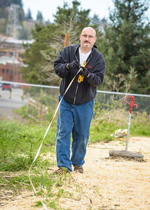 Comcast Cares Day 2017, Bellingham, Pre Event Work Day