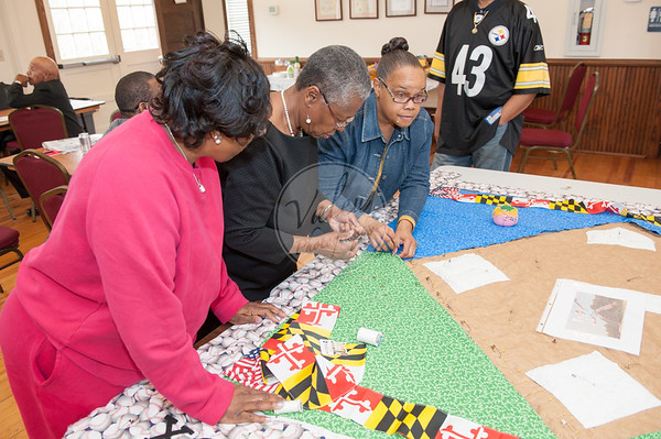 Galesville Quilting Session  (February 2015)