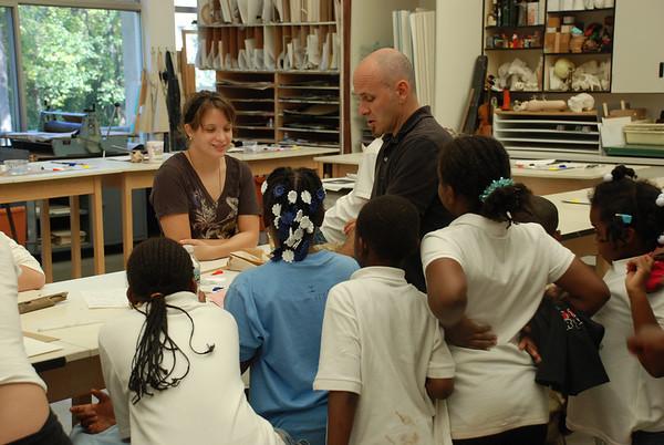 Community Partnership Schoolers Visit GA