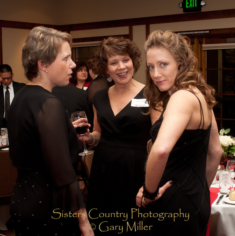 Sisters Area Chamber of Commerce Black and White Annual Dinner 2010. Sisters Country Photography