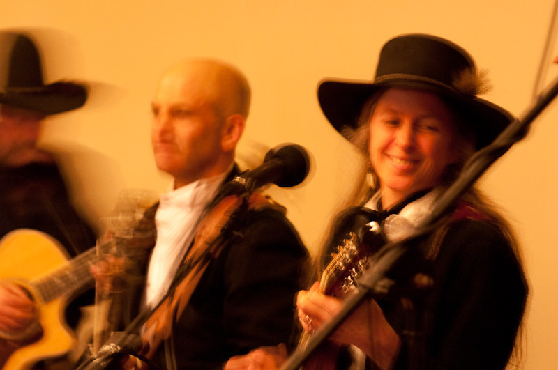 The Anvil Blasters. Sisters Area Chamber of Commerce Black and White Annual Dinner 2010. Sisters Country Photography