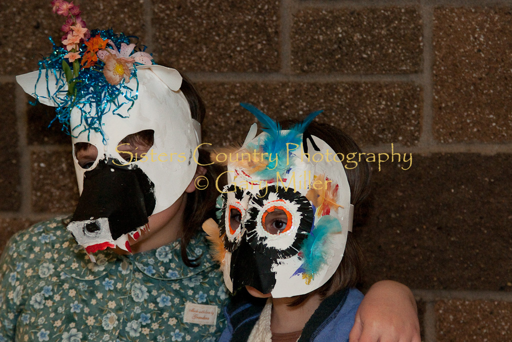 Something Wild -  Mask Making Party for MOTH