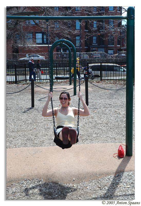 Esplanade swing.