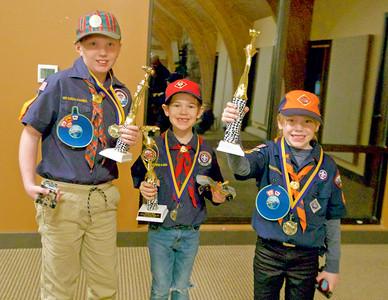 Scout Troop 139 Pine Wood Derby 2020 1-31-2020