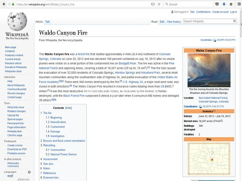 Wikipedia page not for sale