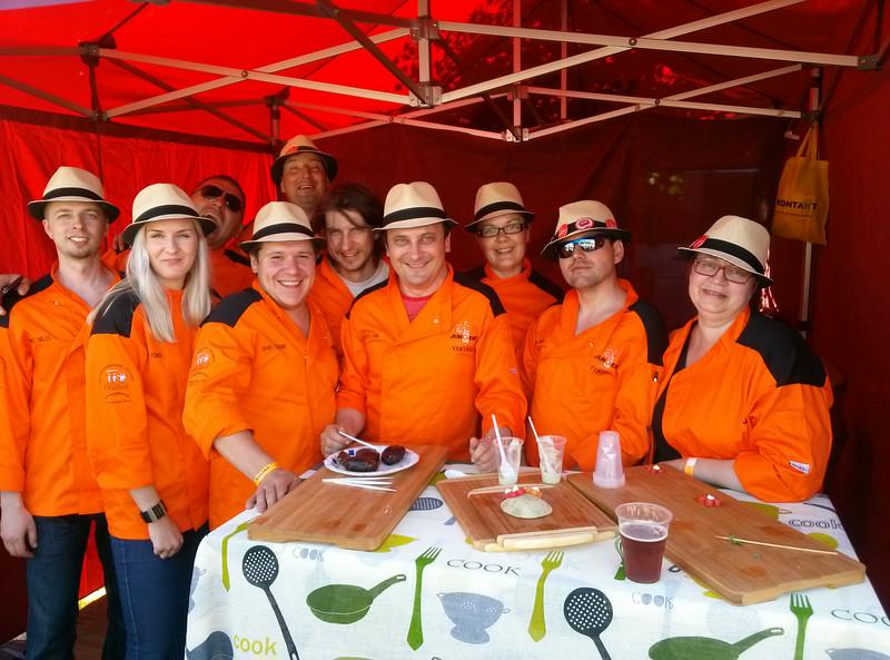 Grillfest 2014 meeskond ja naiskond