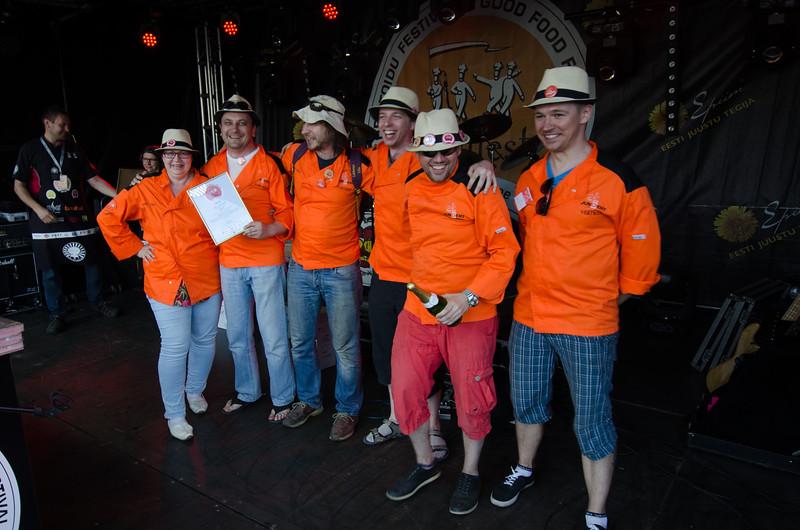 Hea Toidu Festival - Grillfest 2015