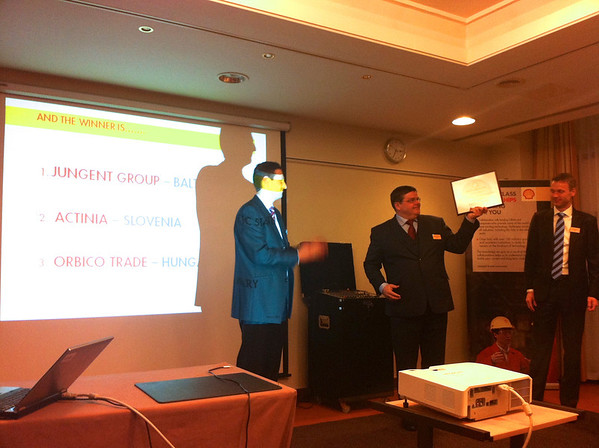 Shell Europe and Africa Macro-Distributors Convention Award given by Shell Vice presidents to Meelis Saaresalu