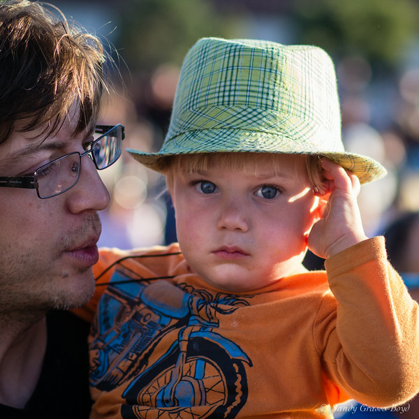 Concert in the Park, Dad and Son