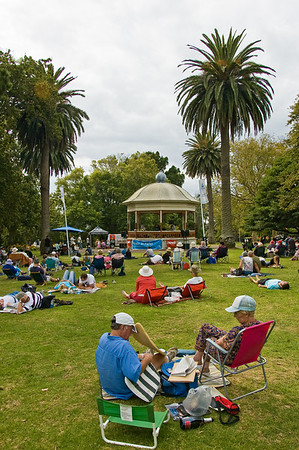 Concert in the Parks 15th Anniversary Auckland Domain Auckland New Zealand - 30 Mar 2008