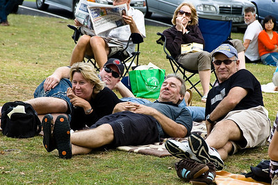 Captive audience Concert in the Parks 15th Anniversary Auckland Domain Auckland New Zealand - 30 Mar 2008