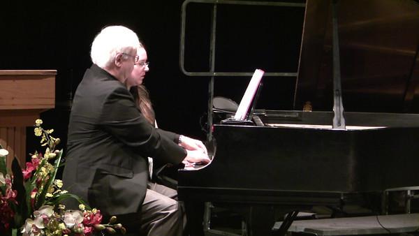 Sonata for Piano Four Hands ~ Francis Poulenc I. Prelude   II. Rustique   II. Final James Maes, Primo Ania Bostock ('05), Secondo
