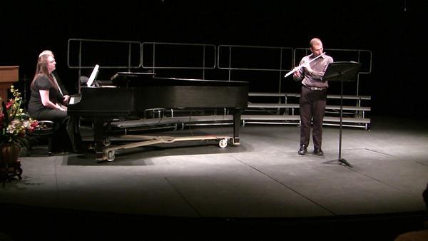 Concertino for Flute and Piano, Op. 107 ~ C. Chaminade Christopher Szpara ('05), flute Ania Bostock ('05), piano