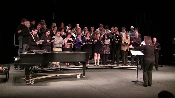 Ain-A That Good News! ~ Trad./Arr. Dawson Choral Ensemble Ellen Cogen, conductor Lori Milbier ('08), accompanist