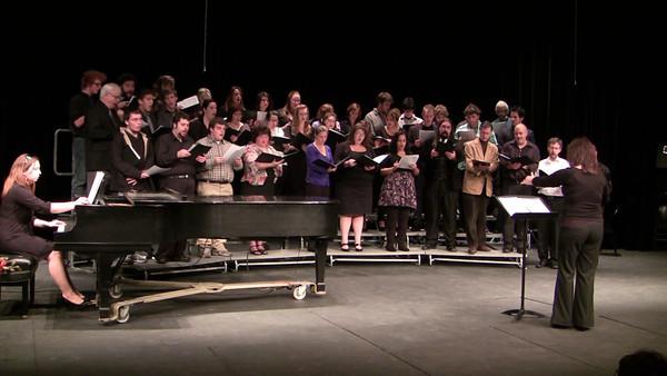 Sure On This Shining Night ~ Samuel Barber Choral Ensemble Ellen Cogen, conductor Lori Milbier ('08), accompanist