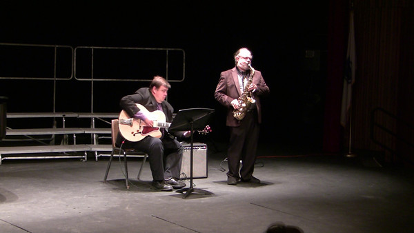 The Present ~ Thomas Chapin Ted Levine, Saxophone Bob Ferrier ('77), guitar