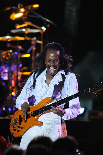 Verdine White enjoying himself