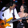 Verdine and Kim Johnson having some fun