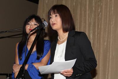 Dr. Yumi Abei and Ms. Kayoko Fujita