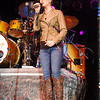 Thousands of fans braved the elements of the impending Hurricane Sandy's arrival on Delmarva to see Kellie Pickler perform live on stage at The Amphitheater at Heron Ponds in Delmar on Friday night. Wayne Barrall/The Daily Times