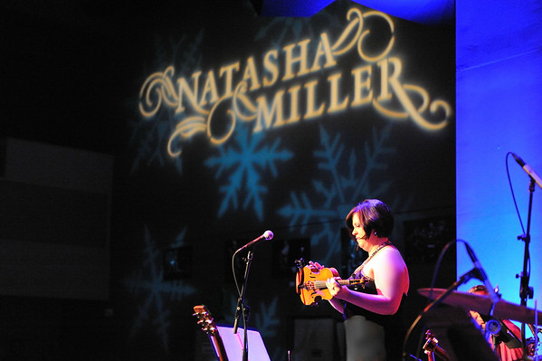 Natasha Miller performs her annual Holiday Concert at Yoshi's on December 19, 2011 at Yoshi's in San Francisco, California.