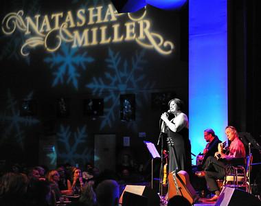 Natasha Miller performs her annual Holiday Concert at Yoshi's on December 19, 2011 at Yoshi's in San Francisco, California.