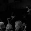 Jazz Mafia Horns make their entrance<br /> Yoshi's - San Francisco, California<br /> December 24, 2009