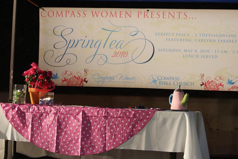 Spring Tea - May 2010