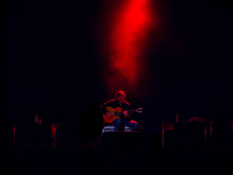 Special guest Al Dimeola's solo performance.