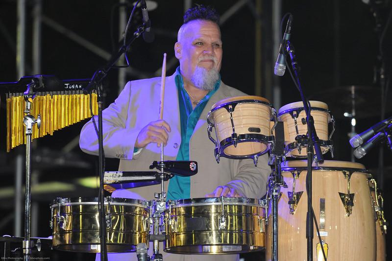 Ahmad Jamal's percussionist