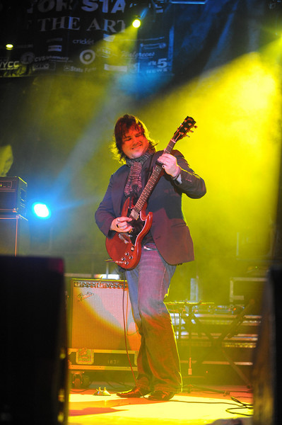 """Booker T's guitarist - who reminded me of Jack Black... I kept thinking """"School of Rock"""" watching him"""