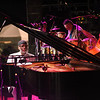 On stage with Ahmad Jamal's quartet