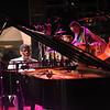 On stage with Ahmad Jamal's quartet