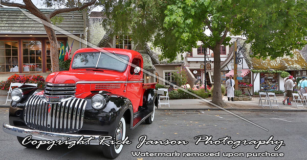 Concours d'Elegance Visits Carmel-By-The-Sea