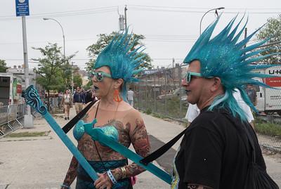 Coney Island Mermaid Parade - June 2015