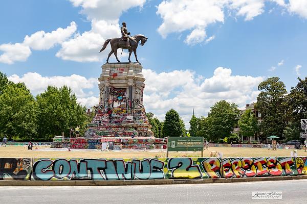 NEWS: JUL 2 Confederate Statue Removal in Richmond, VA