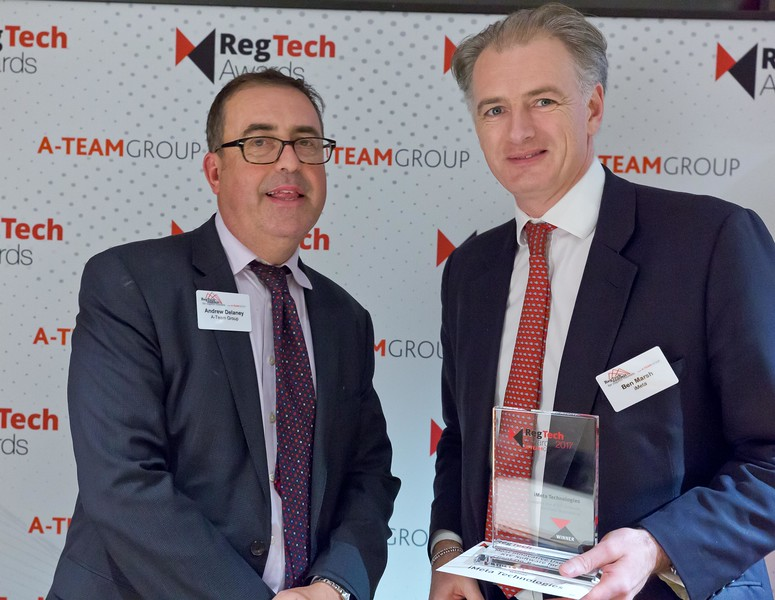 RegTech Award for Most Innovative use of KYC Software for Client On-Boarding, Ben Marsh, iMeta
