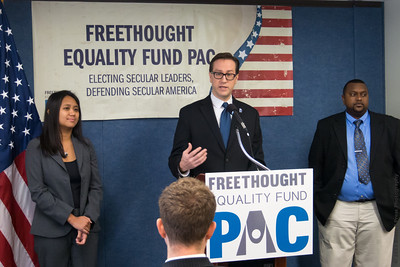 Freethought Equality Fund PAC Press Conference