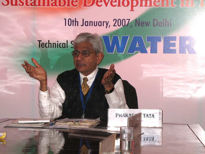 Prakasam Tata, PhD, QED, India Development Coalition of America Conference on sustainable development, New Delhi, India.
