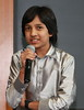 "Master Kishan of Bangalore, India, speaking at the India Development Service 2009 Symposium at Loyola University Medical School, Maywood, (Chicago) IL at age 14 in 2009 about his film, ""Care of Footpath'"" Master Kishan is listed in the Guinness Book of Wolrd Records as the Youngest Movie Producer on earth."