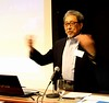 Dr. Cecil Lue-Hung speaking at a Center for Transformation of Waste Technology Conference at the University of Chicago Gleacher center.